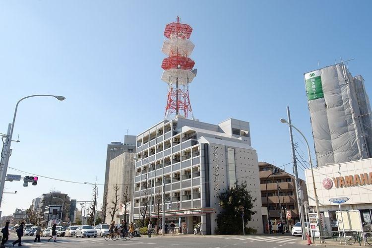 学芸大学駅の賃貸:【赤で彩られたデザイナーズ。】