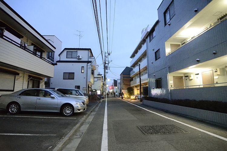 多摩川駅の賃貸:【多摩川に沈む夕陽を眺めながら。】