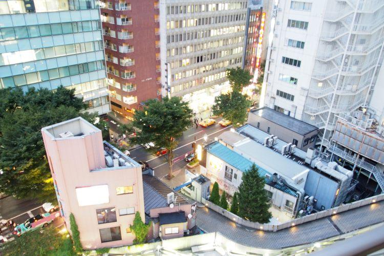 渋谷駅の賃貸:【バスタブに浸かりながら夜景でも。】