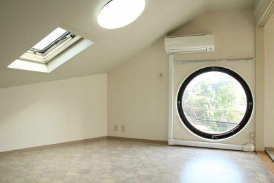 都立大学駅の賃貸:【トレードマークは丸い窓。】 都立大学賃貸